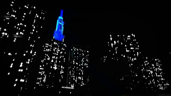 Blue Landmark 81