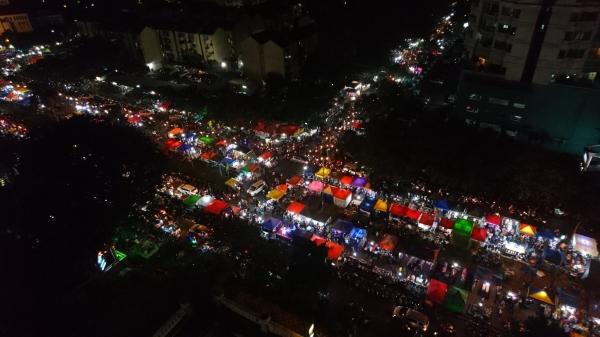 night market in Jakarta