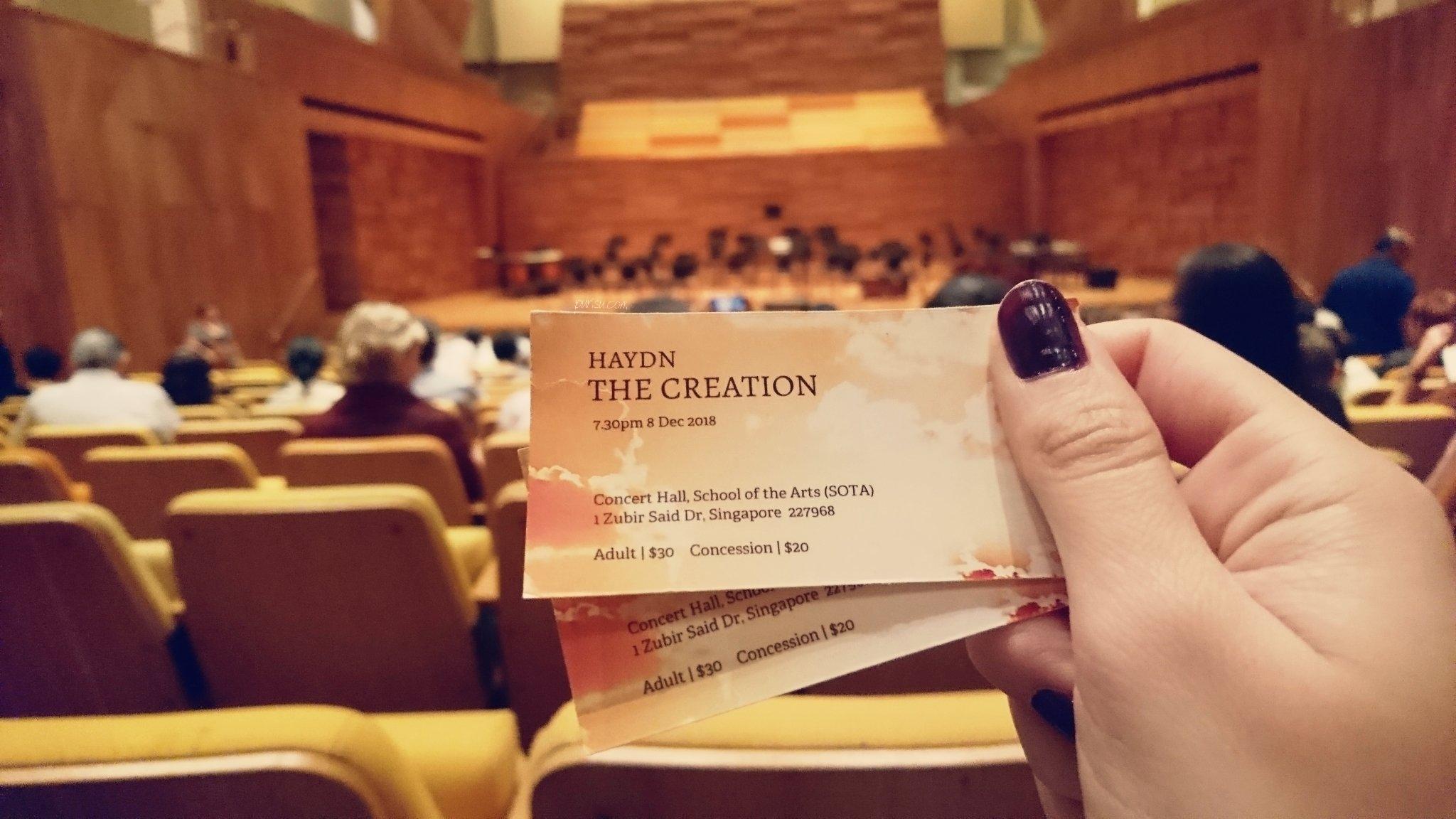 ticket concert