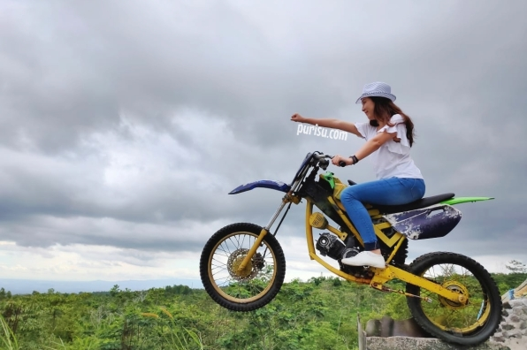 Jump with my bike